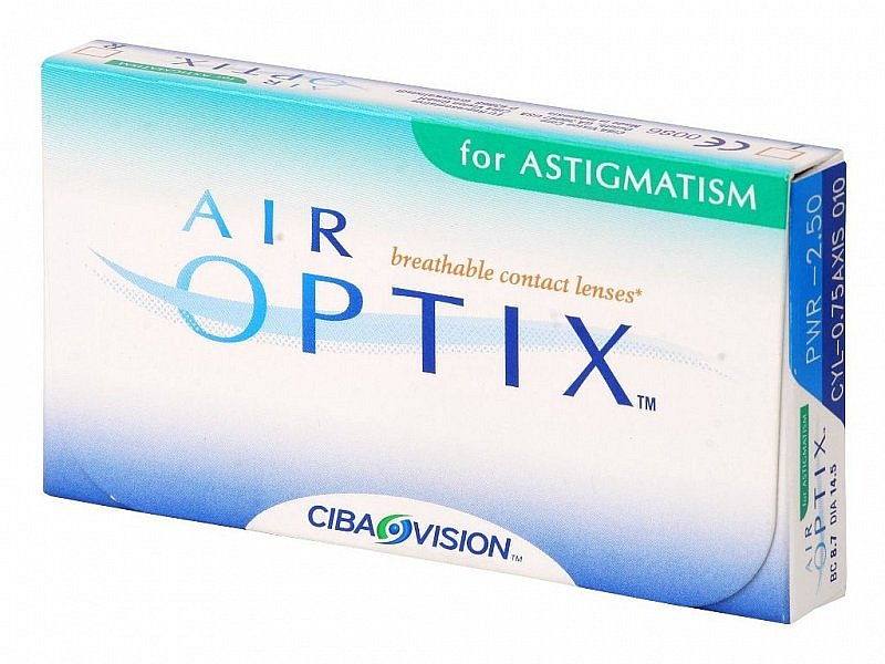 AIR OPTIX AQUA for ASTIGMATISM 6pack