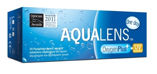 AQUALENS Oxygen Plus One Day 30pack