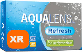 AQUACLENS Refresh for Astigmatism XR 3pack