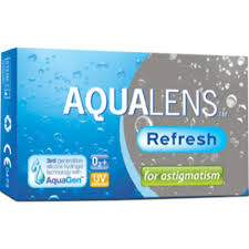 AQUACLENS Refresh for Astigmatism 3pack