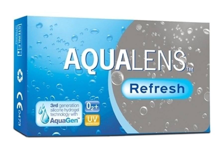 AQUALENS Refresh 3pack Μυωπίας – Υπερμετρωπίας Μηνιαίοι Φακοί Επαφής