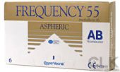 FREQUENCY 55 ASPHERIC Μυωπίας – Υπερμετρωπίας Μηνιαίοι Φακοί Επαφής