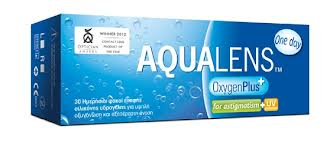 AQUALENS OxygenPlus One Day for Astigmatism 30pack